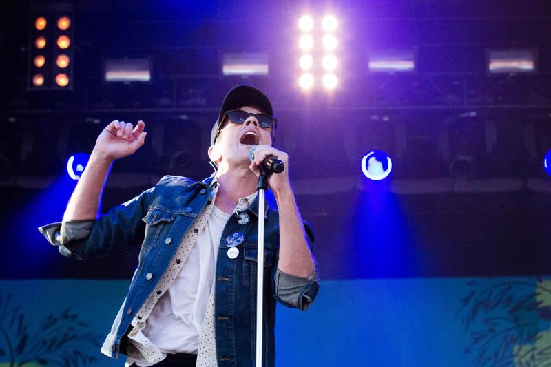Nate Ruess (former singer for Fun) at LouFest 2015