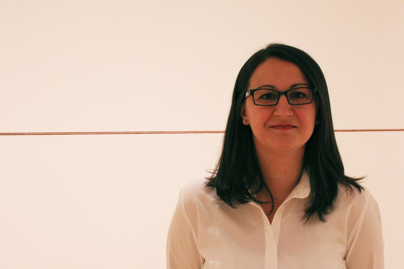 "Tamara Schenkenberg, Curator of Fred Sandbeck's ""Sixty Four Three-Part Pieces"""