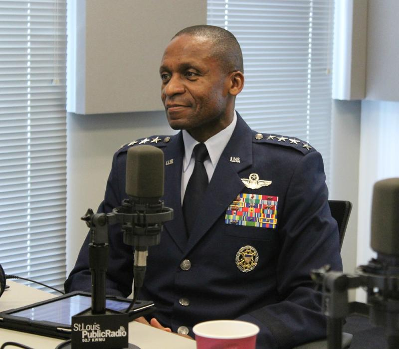 "Gen. Darren W. McDew joined ""St. Louis on the Air"" to discuss his new position as head of U.S. Transportation Command at Scott Air Force Base."