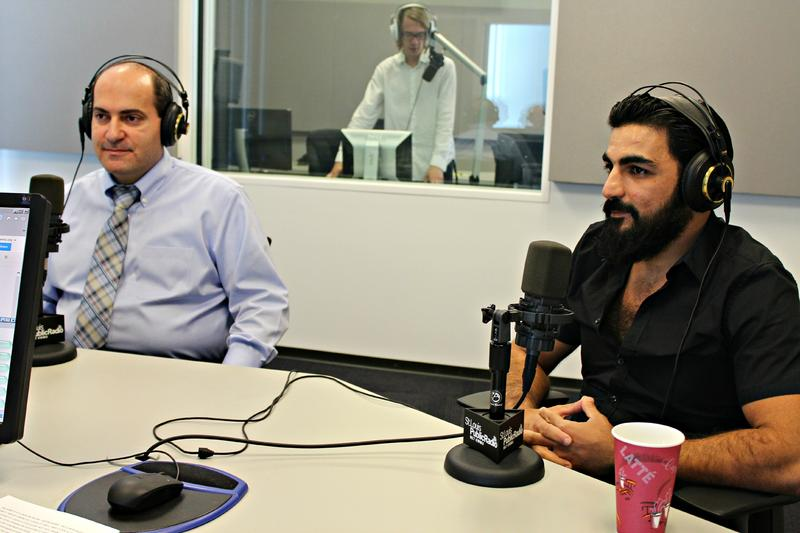 Jimmy Alkhouri and Alaa Alderie, two Syrians who have made homes in St. Louis