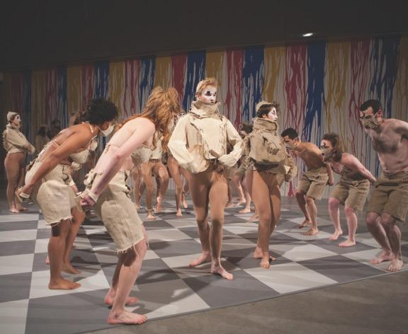 Anatomy is Destiny Live Performance at the Contemporary Art Museum St. Louis by Lilyia Lifanova