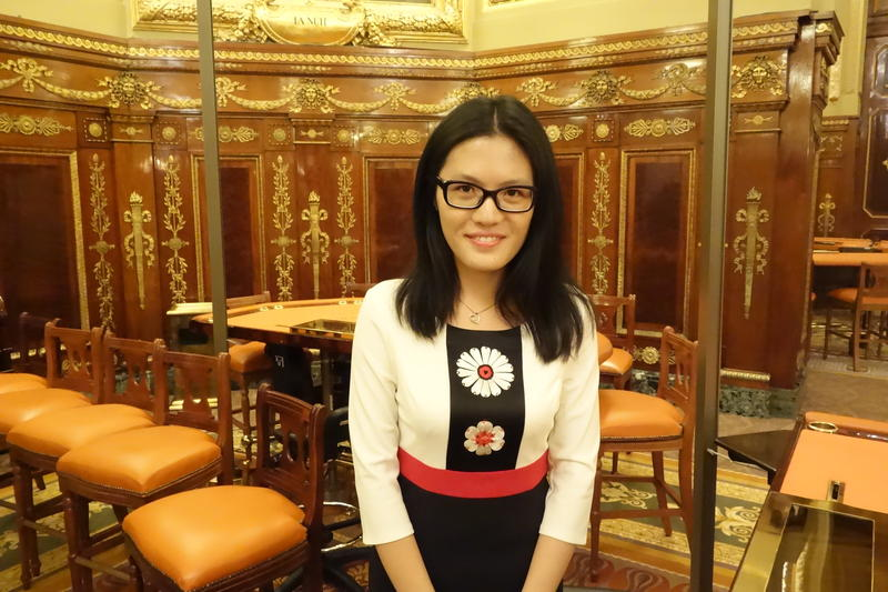 Hou Yifan from the Women's Grand Prix