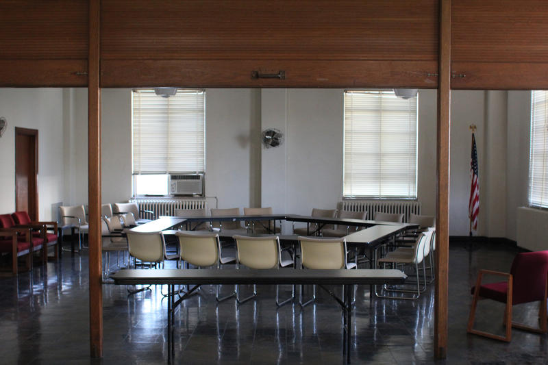 Meeting room renovations will include improved climate control.