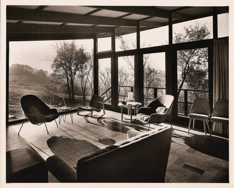 Robert Elkington Residence, interior.