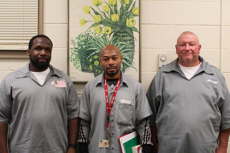Three prisoners share their stories through performance.