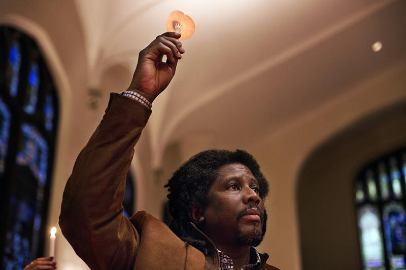Saint John's United Church vigil gun violence Kenneth McKoy