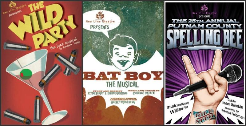 "Songs from ""The Wild Party,"" ""Bat Boy"" and ""The 25th Annual Putnam County Spelling Bee"" will be part of New Line's 25th anniversary concert."