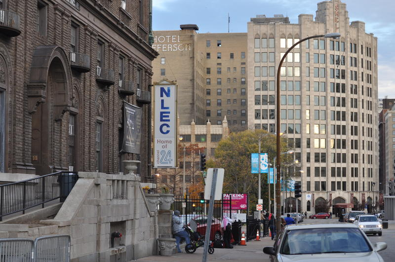 New Life Evangelistic Center is located in downtown St. Louis.