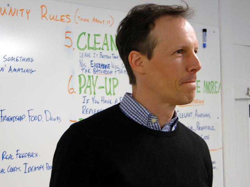 Jim McKelvey, Co-founder, Square