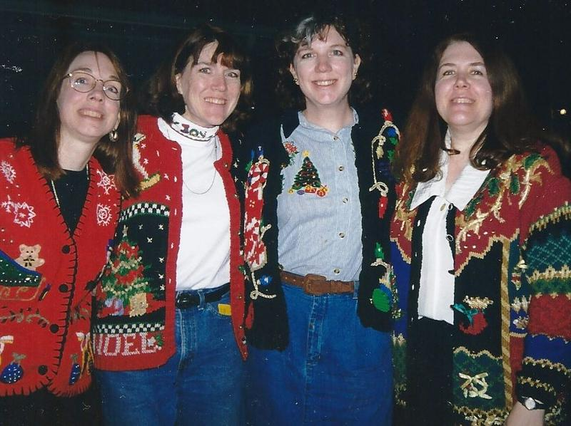Mary Burke of Kirkwood is second from the left in this 1990 photos with her sisters. No, this was not an