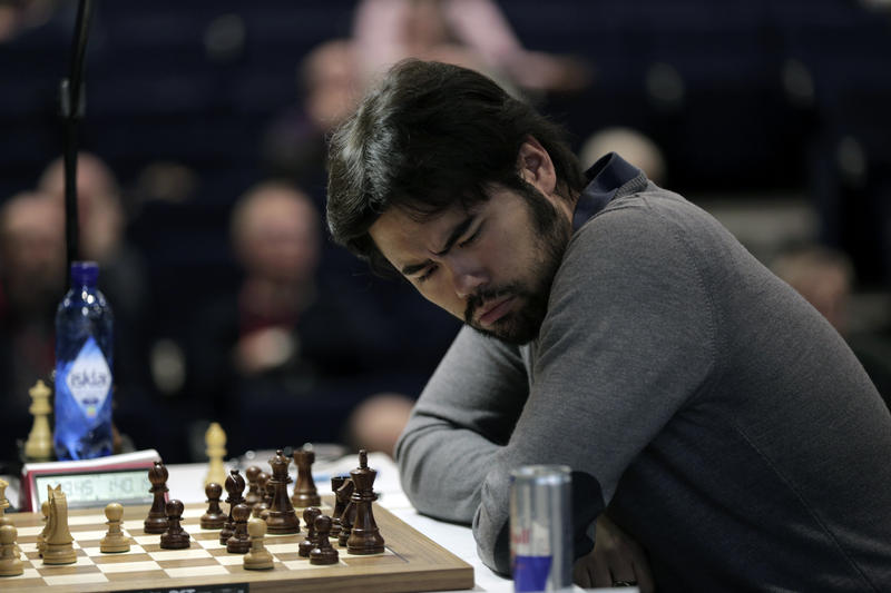 Hikaru Nakamura has reason to celebrate: His birthday fell on the off day halfway through the tournament.