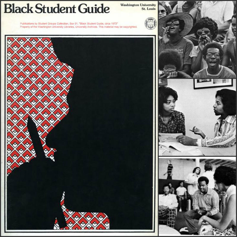 In the early 1970s, Washington University had more African American students enrolled than ever before. They created a guide to help future black students navigate the university and St. Louis.