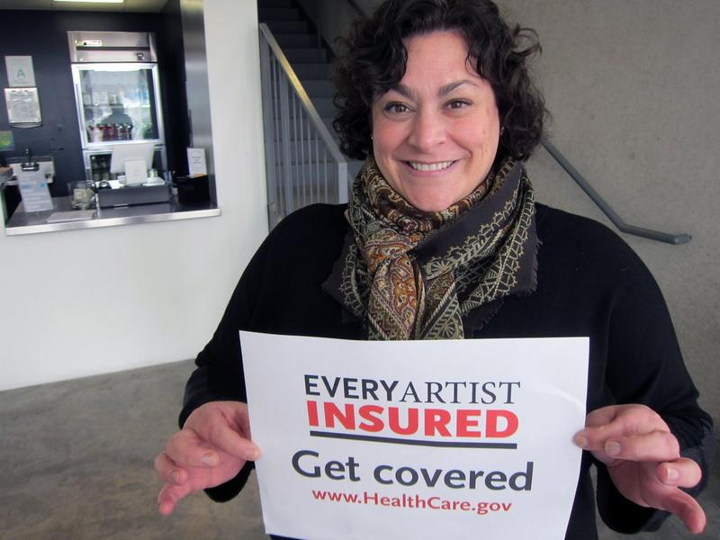 Lisa Melandri, CAM Director, supports VLAA's initiative 'Every Artist Insured'