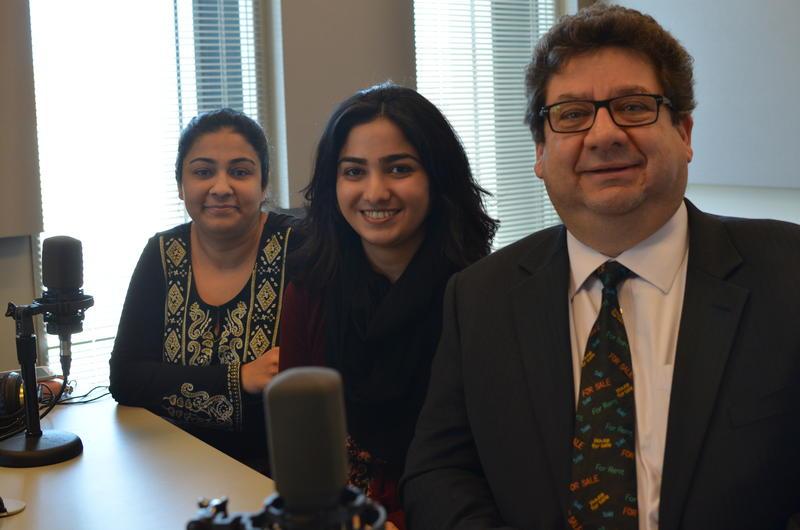 Saba Fatima, Shehmin Awan and Evren Senol.