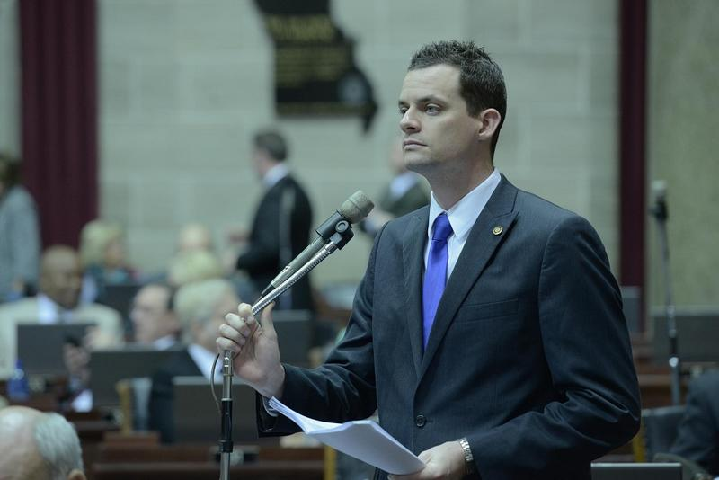Rep. Justin Alferman, R-Hermann, is sponsoring legislation that would implement a photo ID requirement for voting.