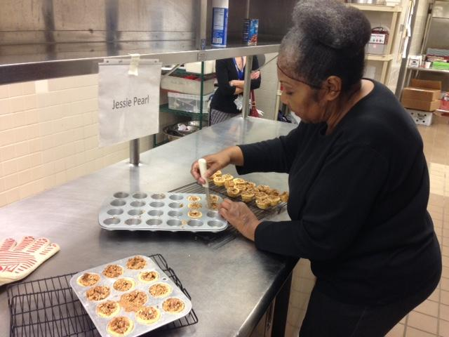 Jessie Pearle Hairston Makes Pecan Tassies At The Shared Use Kitchen.  Hairston Has Been Renting Use Of The Kitchen For $10 An Hour Since July.
