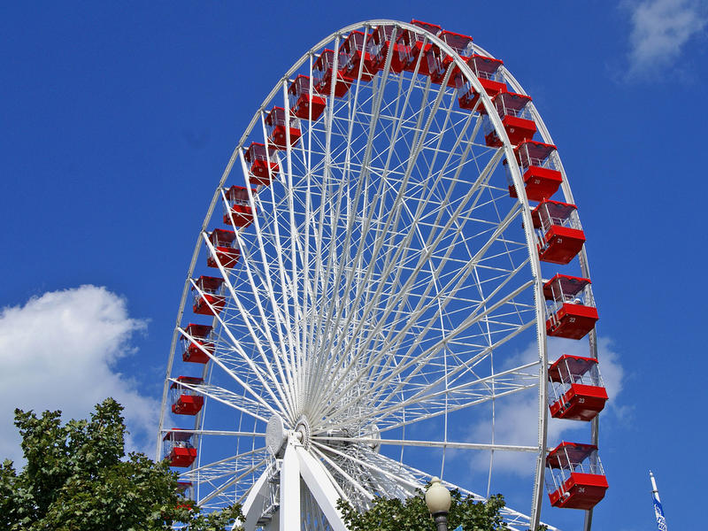 The Ferris Wheel moving to Branson from Chicago