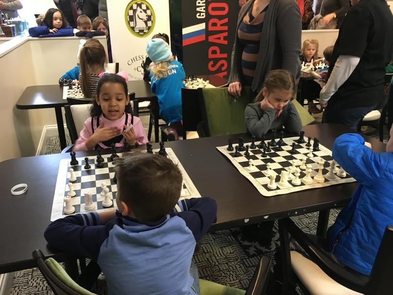 Chess at 3 kids play at the chess club and scholastic center of St. Louis on Jan. 23, 2016.