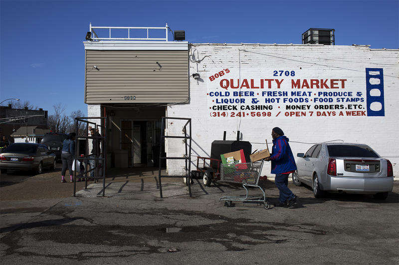 The owner of Bob's Quality Market, at 2708 N. Florissant Aven., has reached an agreement to sell the store to Family Dollar. Alderwoman Tammika Hubbar opposes the discount chain's move into the neighborhood.
