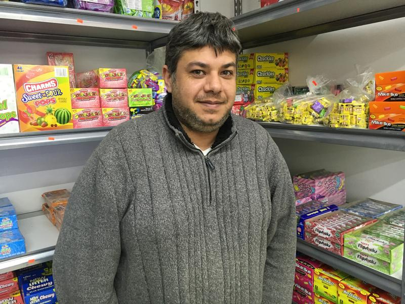 Muhammad Yaacoub is the owner of Sam's Meat Market in Ferguson. And he says that business has been slow since he reopened his doors last August.