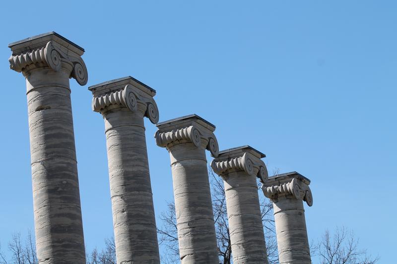 Mizzou's Columns