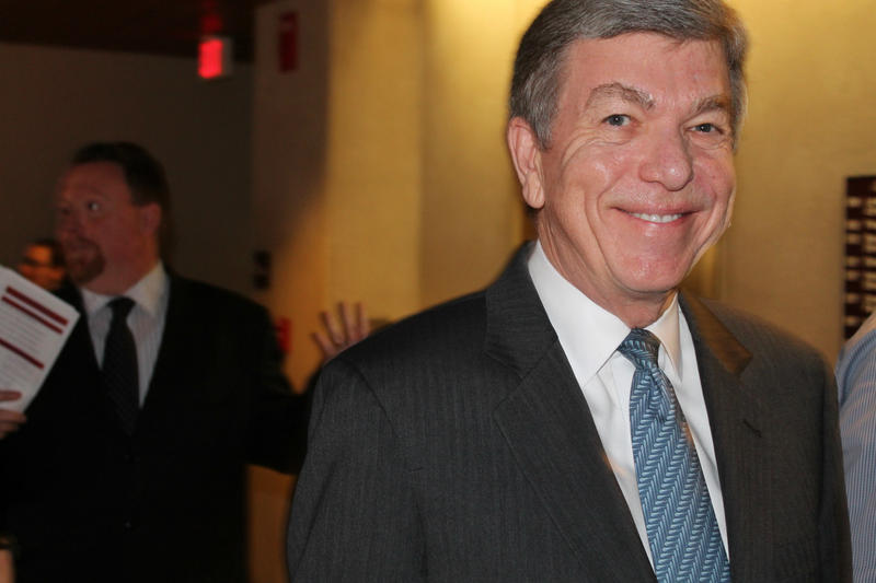 U.S. Sen. Roy Blunt, a Republican filing for his current post, ended the practice of people waiting in line for weeks when he was secretary of state.