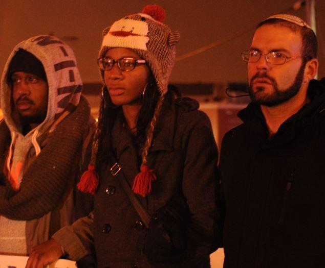 In Nov. 2014, Ka'Milla McMiller (center) participated in a Trans Lives Matter march that drew 125 people to the Central West End.