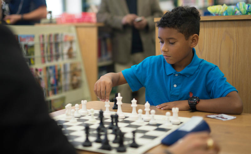 School programs increase interest in chess and help with confidence.
