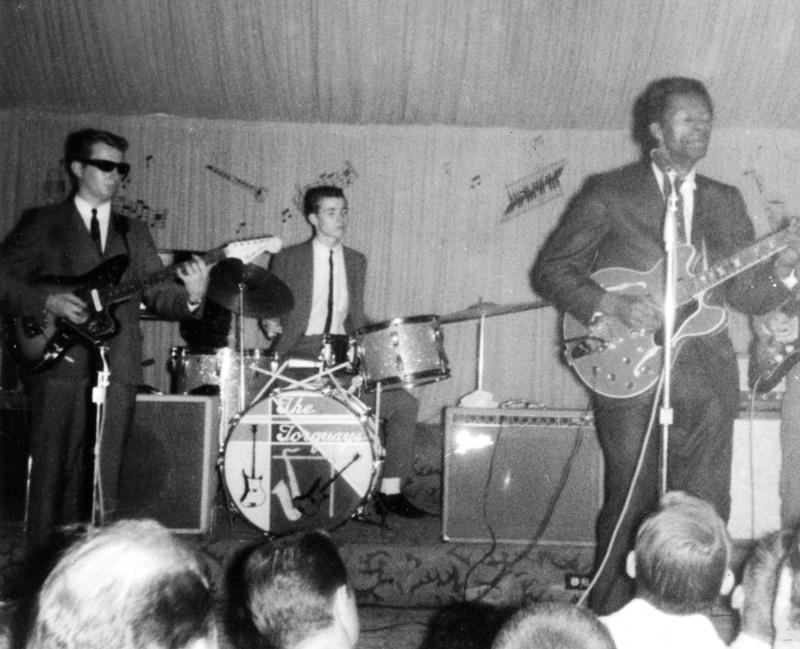 Chuck Berry performs with The Torquays at the Coliseum Ballroom.