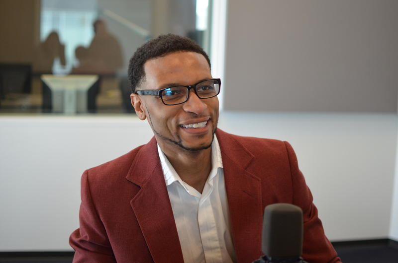 "Devin James, author, business owner and former Ferguson PR strategist joined ""St. Louis on the Air"" on Thursday."