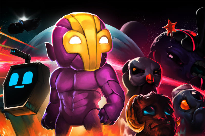 A cropped version of Crashlands' game art.