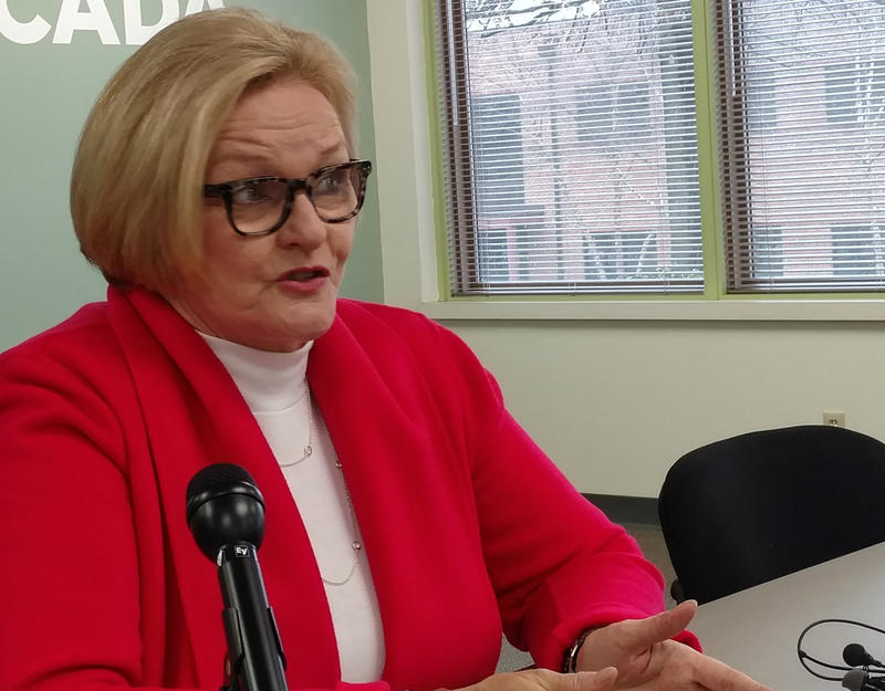 U.S. Sen. Claire McCaskill says a drug registry would save lives.