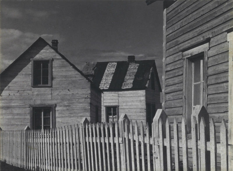 Paul Strand; Village, Gaspé, 1936; Saint Louis Art Museum 73:1978; © Aperture Foundation Inc., Paul Strand Archive.