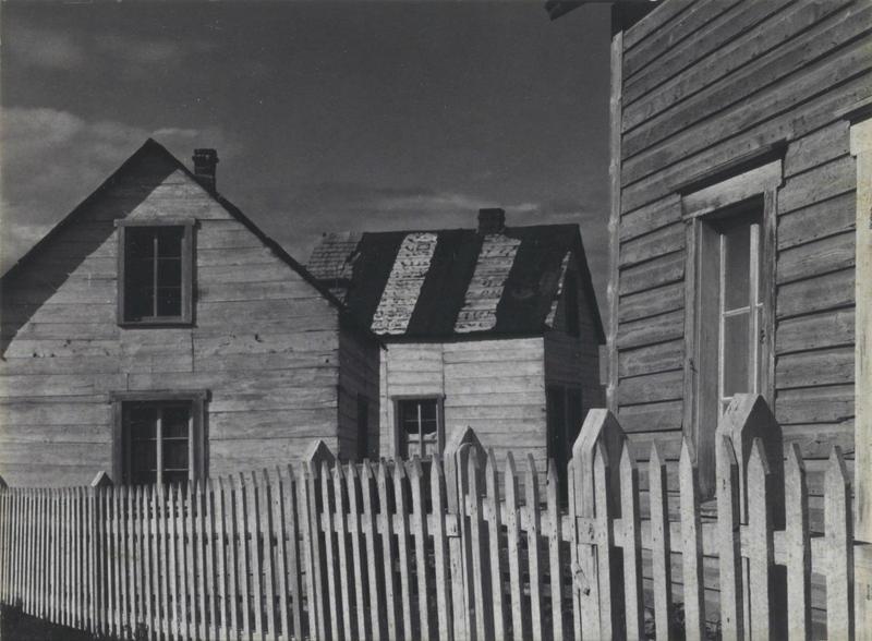 Paul Strand; Village, Gaspé, 1936; Saint Louis Art Museum 73:1978; © Aperture Foundation Inc., Paul Strand Archive.