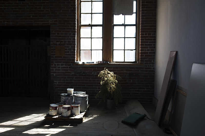 Owner Jim Osher is working on renovating the former factory.
