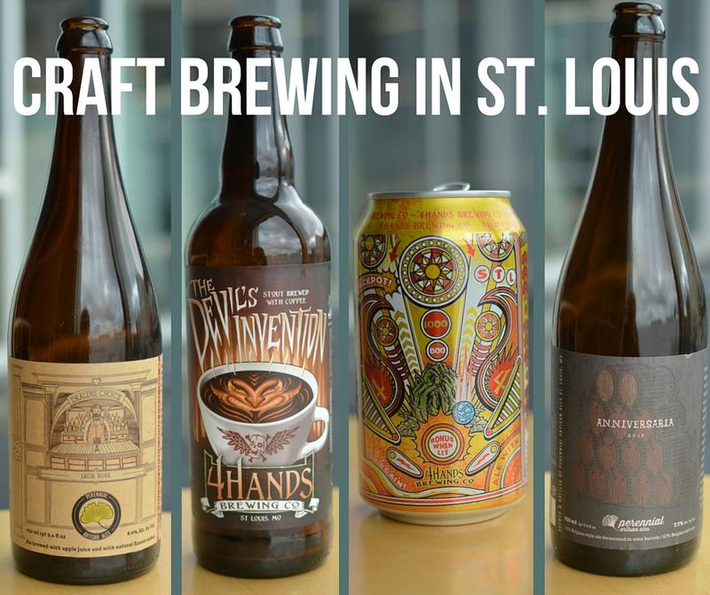 The craft beer scene in St. Louis is brewing, with ten new craft breweries opening in the past year alone. We talked (and taste-tested) with two of them.
