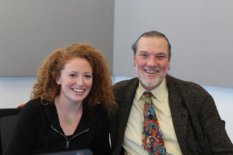 Marissa Mulder and Jon Weber