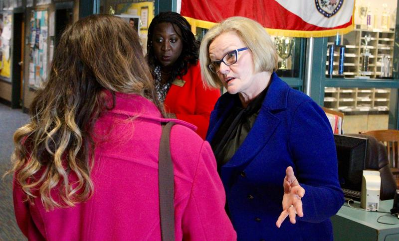 Claire McCaskill is going to the U.S.-Mexico border next week.