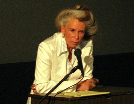 Catharine MacKinnon speaking in 2006