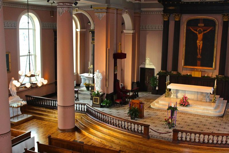A look inside the Old Cathedral's renovation