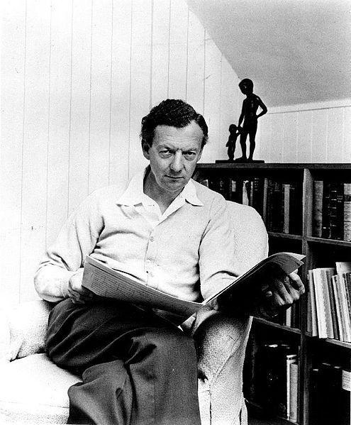 Benjamin Britten in 1968