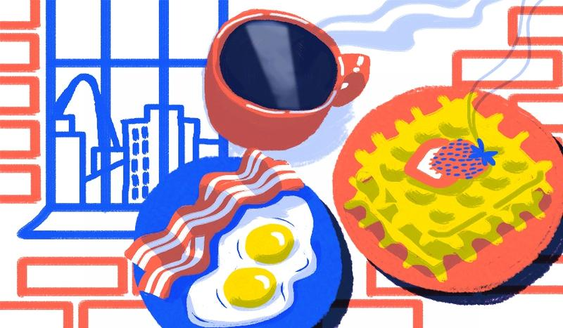 Some St. Louisans enjoy a full breakfast; others get by on coffee alone. Then there's everything in between, from rum cake to Gogurts.