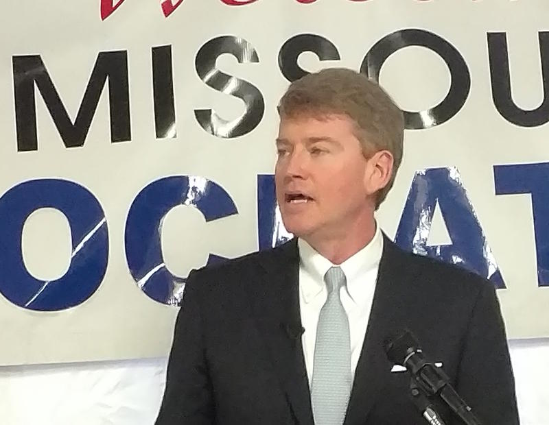 Attorney General Chris Koster kicks off his gubernatorial campaign at Missouri Democrat Days.
