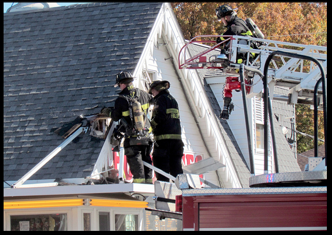 Ted Drewes fire 11/10/13