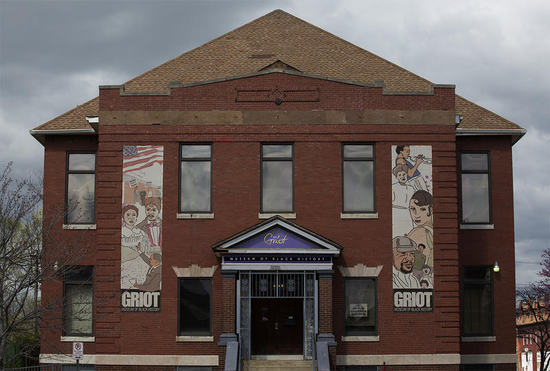 This photo of the Griot Museum of Black History at 2505 St Louis Ave. is from February 2016.