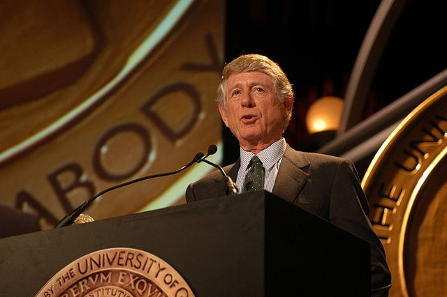 Ted Koppel at the 62nd Annual Peabody Awards.