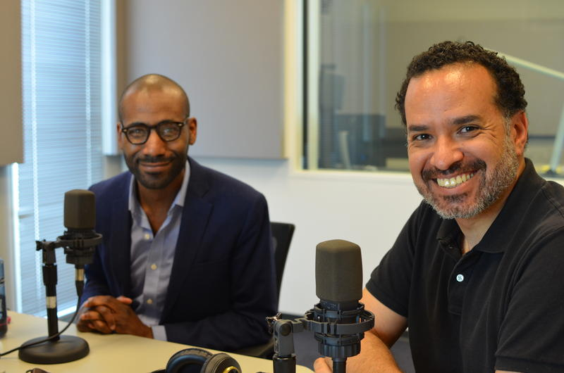 """Haliday Douglas and Travis Sheridan joined """"St. Louis on the Air"""" to discuss the new  Education Innovation Fellowship program."""