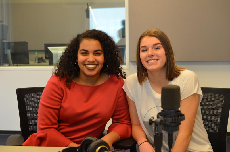 Audri Bartholomew and Abby Zaiz discussed the Fox Performing Arts Charitable Foundation's sixth annual Teen Talent competition is next weekend.