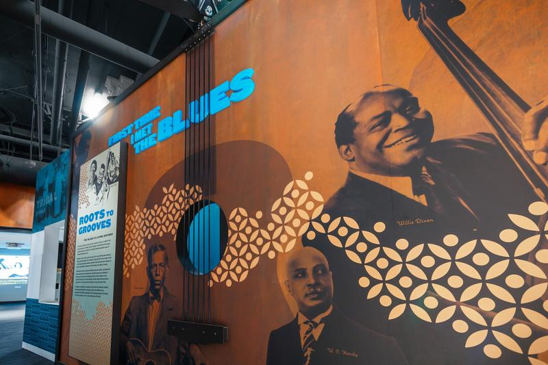 Part of an exhibit at the National Blues Museum, which has its grand opening on April 2 in St. Louis.