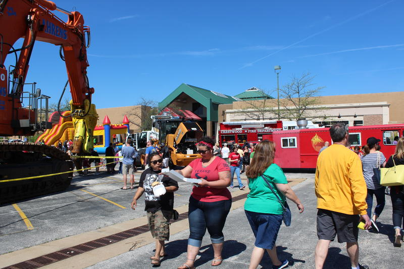 Bulldozers and dump trucks are what's in store for the vacant mall most recently known as Crestwood Court as redevelopment plans are in the works. Thousands of residents came to say good-bye at a food truck festival held Saturday.